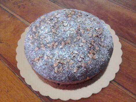 Cake sabor Canela con Nueces