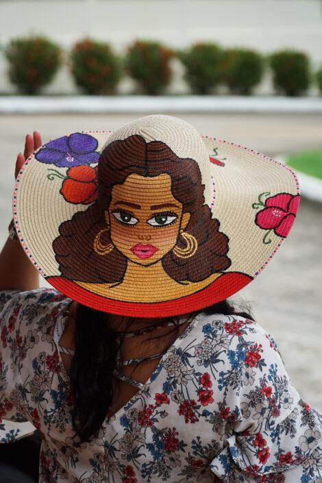 Sombrero de muñequita
