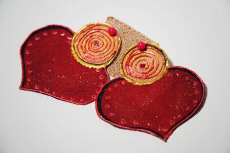 Aretes de Corazón