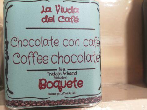 Chocolate artesanal de café