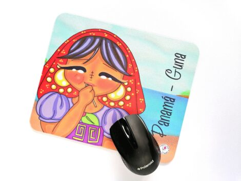 Mousemat de goma antideslizante