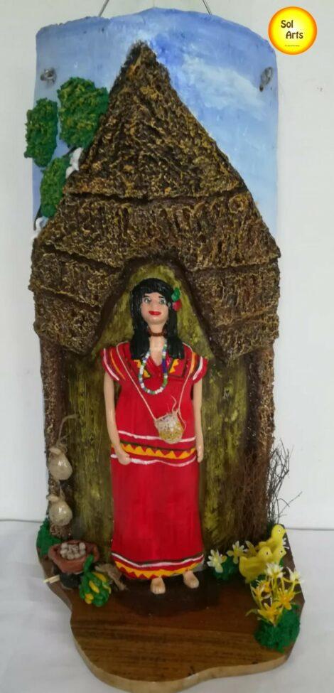 India Ngobe-bugle en Teja Antigua
