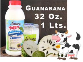 Yogurt Sabor Guanabana 32oz
