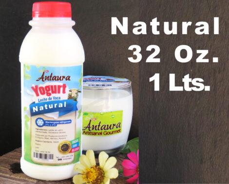 Yogurt Natural De Vaca 32oz