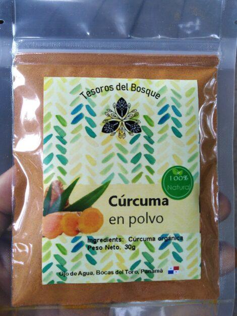 CURCUMA 100% NATURAL ORGÁNICA