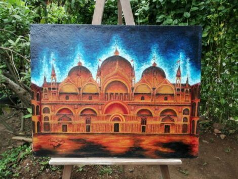"Pintura ""La Basílica"