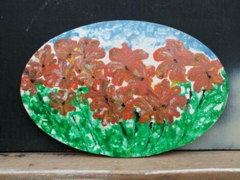 """Pintura """"Las flores"""""""