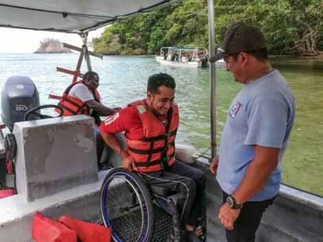 Aventuras bajo el agua: Snorkeling adaptado en Portobelo