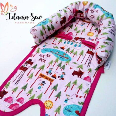Cobertor de coche de bebé con soporte