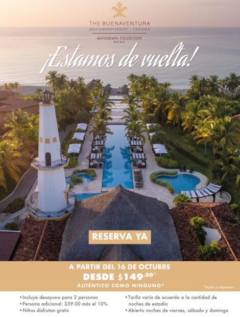 UNA ESCAPADA TROPICAL EN PANAMÁ – THE BUENAVENTURA GOLF & BEACH RESORT