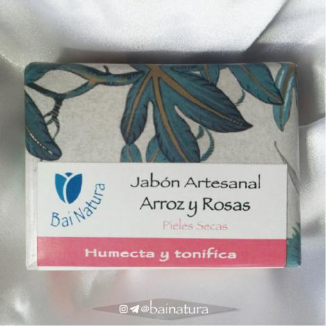 Jabón de Arroz y Rosas