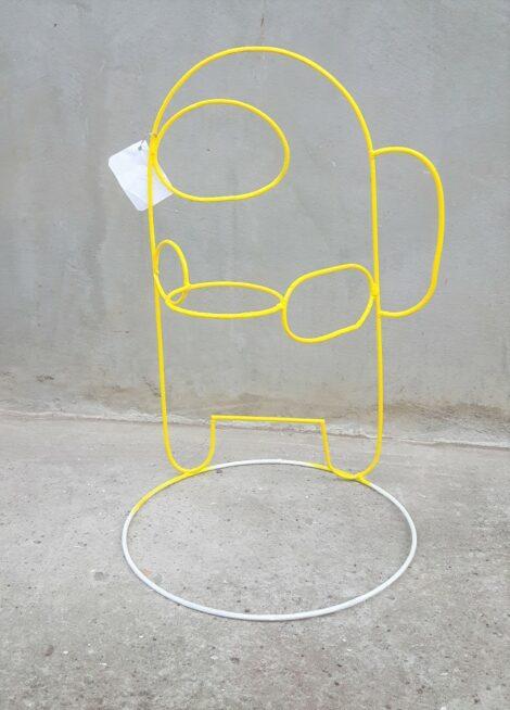 Astronauta amarillo
