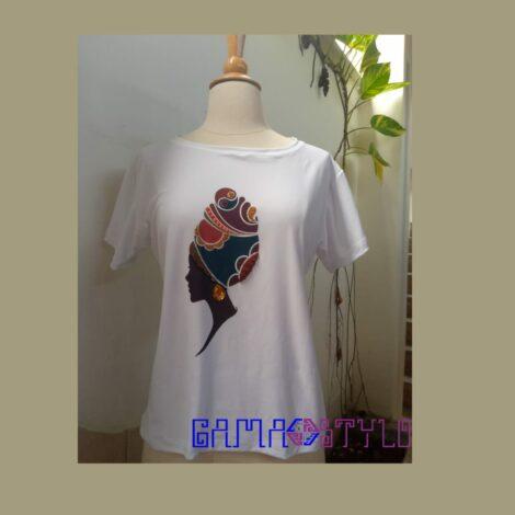 T-shirt con temática Etnia Negra