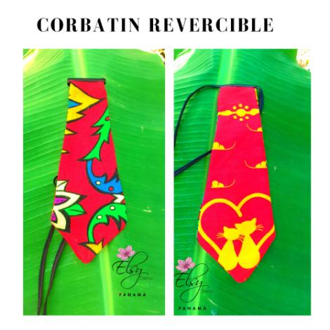 Corbatín Reversible