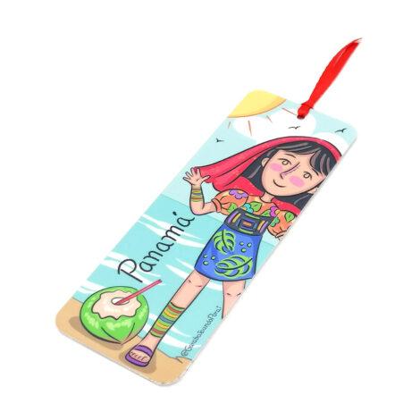 Separa Páginas Yo Soy Panamá – Bookmarks – Niña Guna – Souvenirs de Panamá
