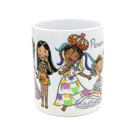 Taza de Cerámica 11 oz – Yo Soy Panamá – Regalos Culturales de Panamá