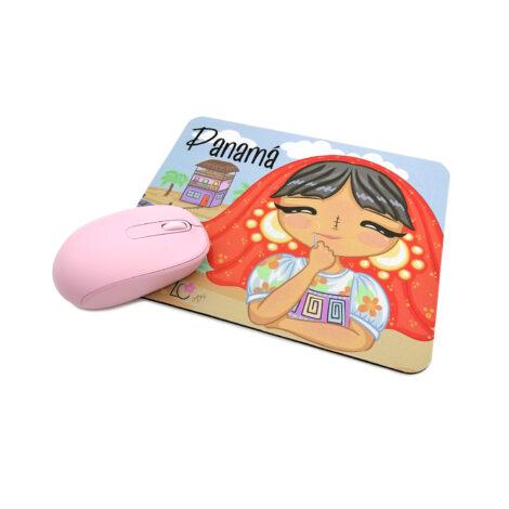 Mousepad de Goma Antideslizante – Niña Guna – Dulzura Étnica